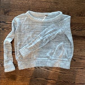 Free people marled sweater